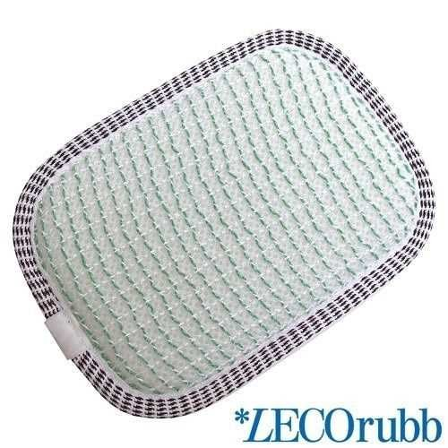 LECOrubb Massageschwamm, Peelingschwamm für sanftes, intensives Peeling der Haut