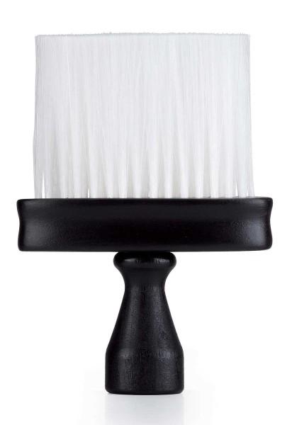 Friseur -Nacken-Flachpinsel schwarz mit Griff
