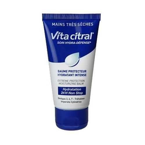 Vita Citral Hydro-Schutz Handcreme für sehr trockene, feuchtigkeitsarme, raue und geschädigte Hände,