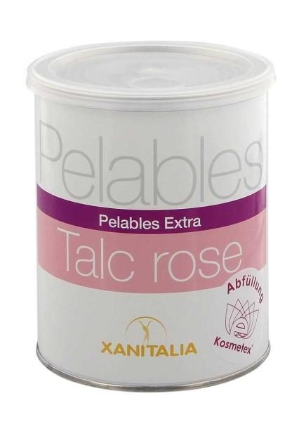 Talc Rosa Xanitalia Pelables EXTRA Wachs-Dose für flexibles Waxing ohne Vliesstreife, 800g