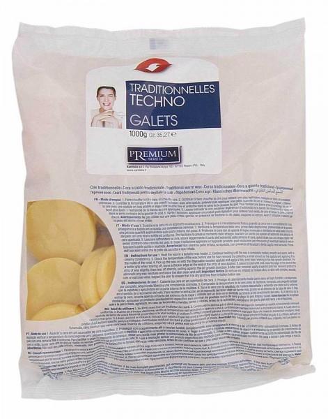 Wachstaler Premium Gialla Honig, Warmwachs Scheiben, 1kg