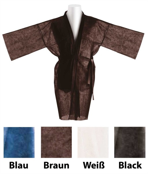 10x Kimono, Einweg Vliesstoff,