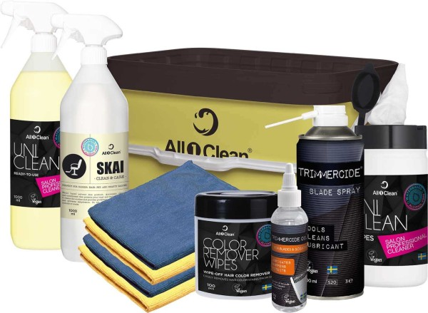 All1Clean Friseur & Kosmetikstudio, Beauty Reiniger Starterset
