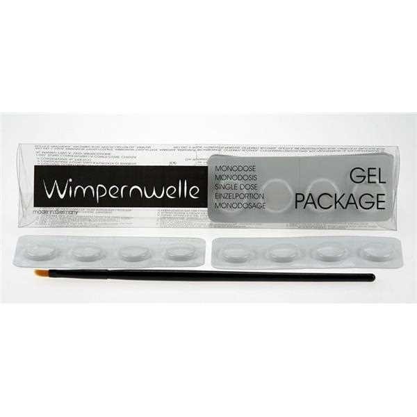 24x Wimpernwelle Gel 1+2 Package Einzelportion, 12 Behandlungen
