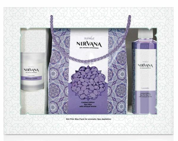 Nirvana SPA Set 3 tlg, Lavendel Italwax
