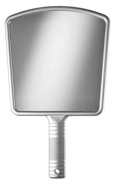 Großer Handspiegel Friseur-Spiegel 36 cm, Silber Hand-Spiegel Salon Kosmetex, 1:1