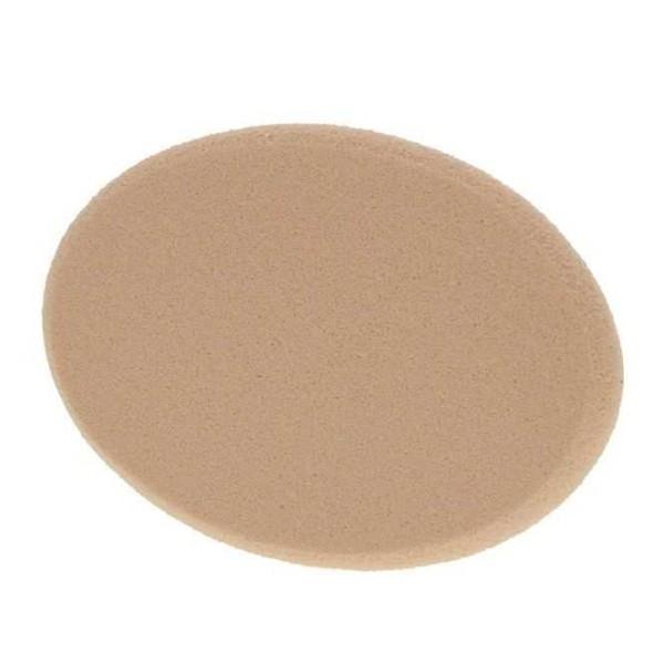 Ovales Make-up Schwämmchen beige, MakeUp Schwamm oval, 7,5 cm
