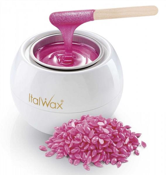 Italwax Glowax Kit, Starterset Film Wax für Gesicht, Achseln und Intim