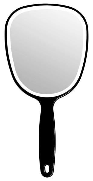 Handspiegel Mit Ovaler Form Kosmetik - Spiegel, Normal 1 in Schwarz