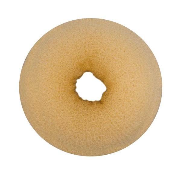 Haarkissen Ø 8cm, Duttkissen, Donut-Form, Haarring aus Frottee, blond