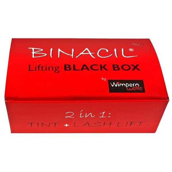 BINACIL Lifting BOX Schwarz: Tint & Lift Fixing