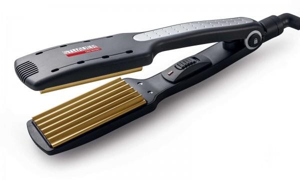Haarglätter für Friseé-Effekt, Java Tourmaline Gold