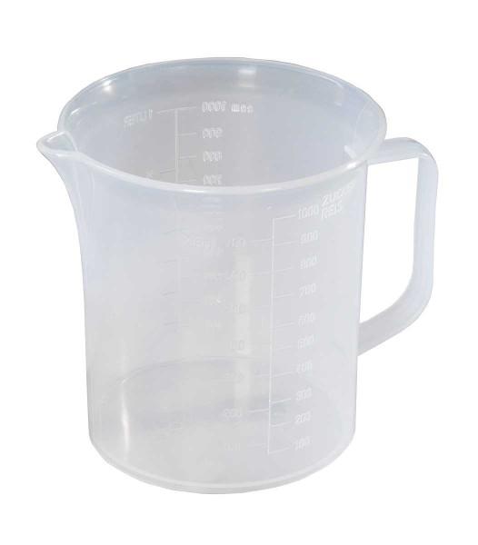 Messbecher 1 Liter, transparent