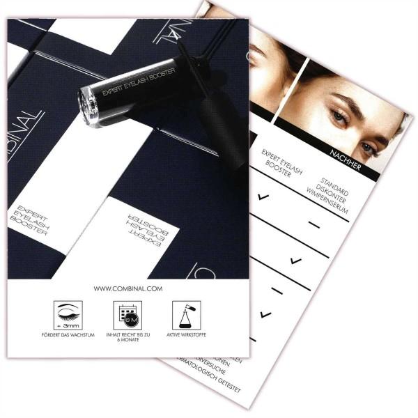 Combinal Flyer Blau Expert Eyelash Booster, A6