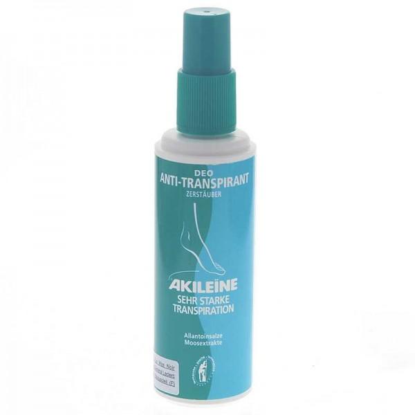 Akileine Grün, Deo-Biactif Anti-Transpirant Zerstäuber Schwitzen regulieren, Gerüche neutralisieren,