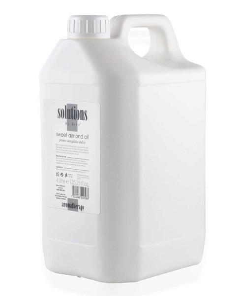 4 Liter Hive Solutions Süßes Mandelöl, Basisöl für die Aromatherapie, Trägeröl, 400ml