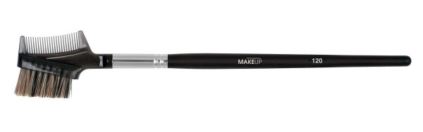 Wimpernkamm mit Augenbrauenpinsel, Make-up Pinsel