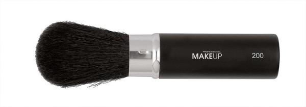 Einziehbarer Make-up Pinsel, Retract Puderpinsel, Taschenpuderpinsel aus Ziegenborste