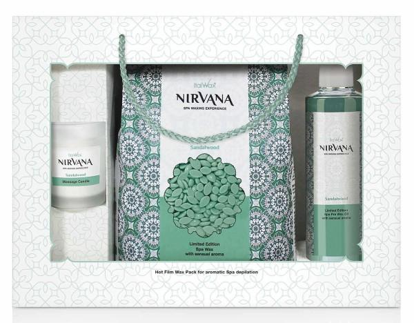 Nirvana SPA Set 3 tlg, Sandelholz Italwax