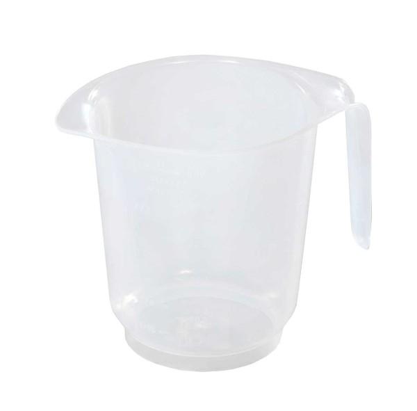 Messbecher 0,5 Liter, transparent