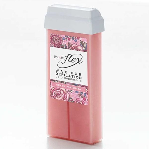 Wachspatrone Rosa Rosenöl FLEX Italwax, 100 ml