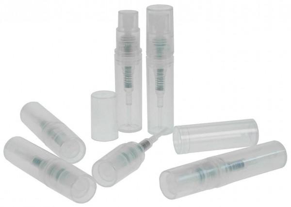 Taschenzerstäuber, Proben Parfüm-Zerstäuber f. Unterwegs, Pump-Zerstäuber, leer 2ml