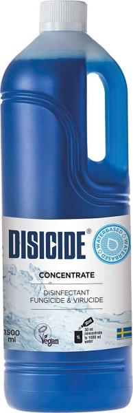 Disicide Concentrate für Instrumente, Rasierer Desinfektion Konzentrat für Gläser/ Wannen, Vegan,