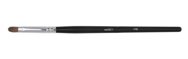 Schmaler Lidschattenpinsel, Augenpinsel, Make-up Pinsel aus Marderborste