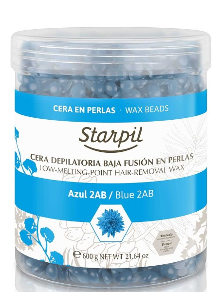 Starpil Azulen 2AB Hartwachs Perlen, 600g