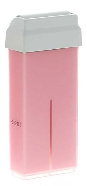 Wachspatrone Rosa Premium - breiter 45mm Rollkopf