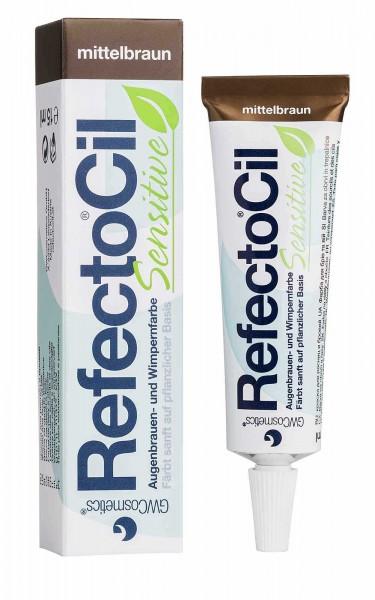 RefectoCil Sensitive Augenbrauen- und Wimpernfarbe, 15ml,