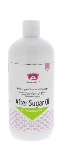 Kosmetex After Sugar Öl - Mandelöl als Abschluß, 500ml