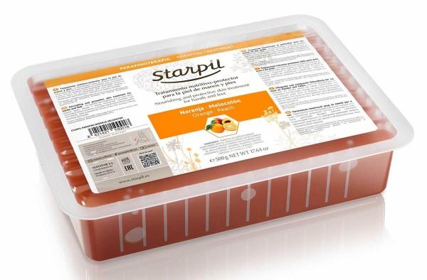 Starpil Paraffin, Orange - Pfirsich 500g