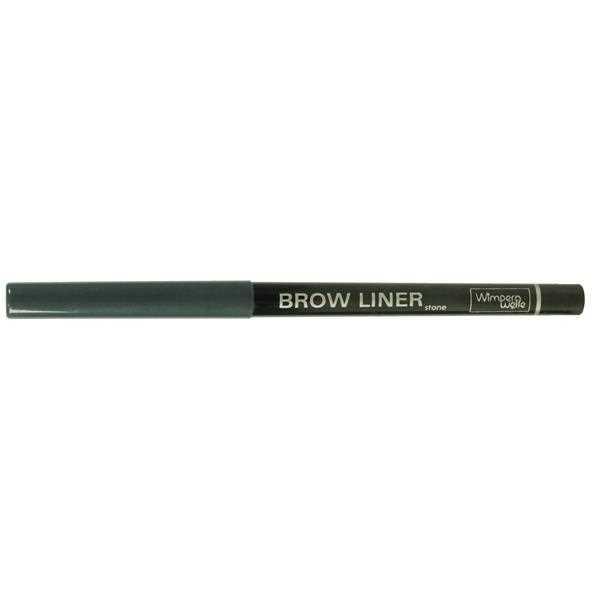 Wimpernwelle BROW LINER, Augenbrauenstift, stone