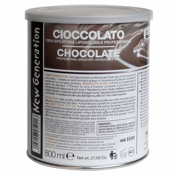Warmwachs Chocolate arcocere, Dose 800ml