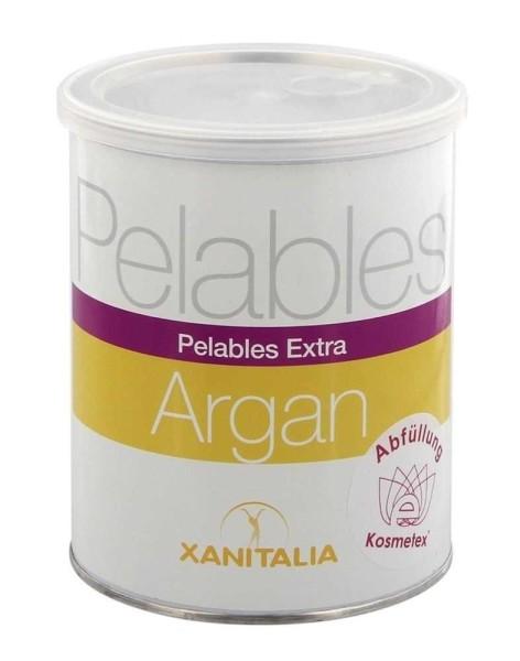 Xanitalia Pelables EXTRA Wachs-Dose Argan für flexibles Waxing ohne Vliesstreife, 800g