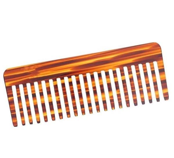 Afro-Kamm, für voluminöses Haar. Großer 16cm, Grober Kamm für dichtes, lockiges, nasses und langes H
