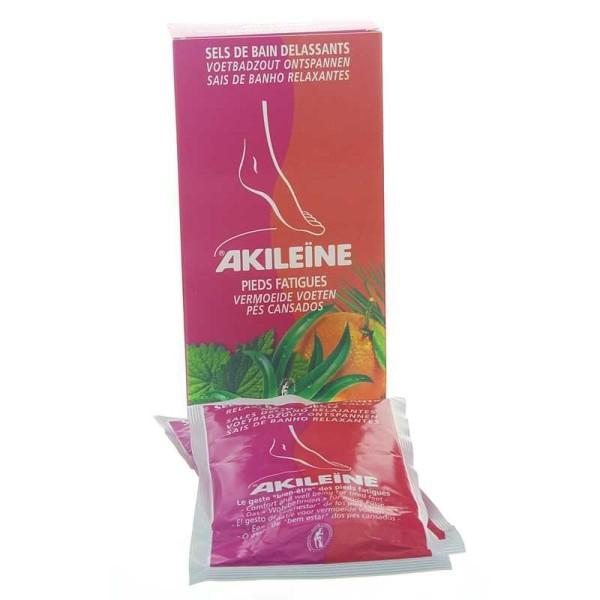 Akileine Rot, Entspannendes Fußbadesalz für müde Füße, 300gr