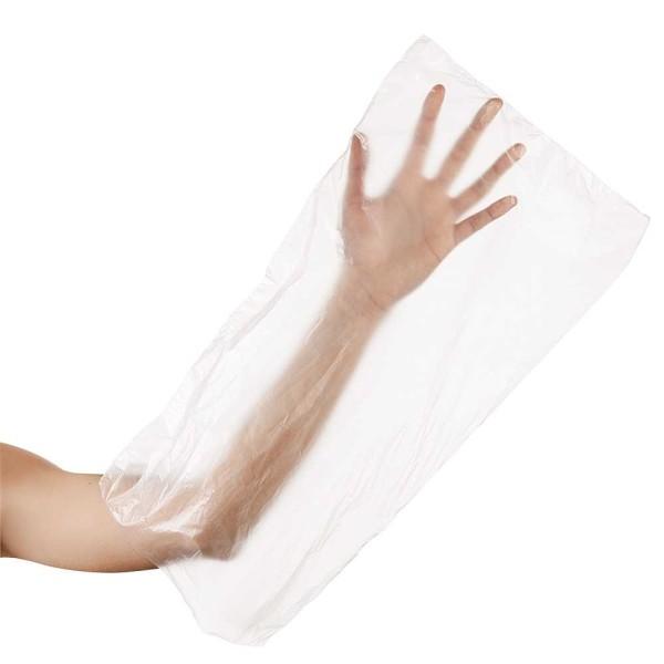 Einmal Hand Paraffinbad Schutz-Hüllen 48 x 24 cm, Einheitsgröße Groß, 100 Stck