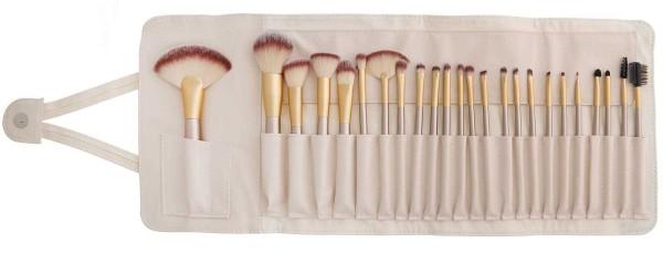 Pinselset Kosmetikpinsel-Set 24 Pinsel mit Tasche