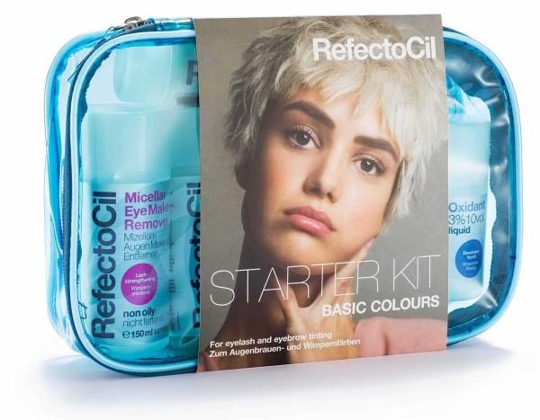RefectoCil Starter Kit Basic Colours Augenbrauen Wimpernfarben