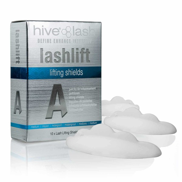 10x Hive Silikon Wimpernlifting Pads, mittel