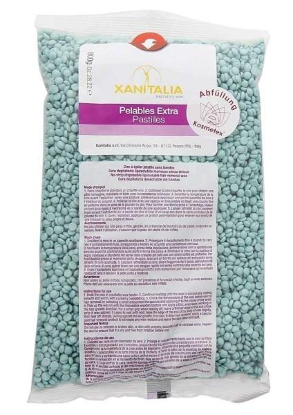 Xanitalia Premium Aloe Vera Pelables EXTRA Wachs-Perlen für Super flexibles Waxing ohne Vliesstreife