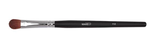 Lidschattenpinsel, 130 mm breite Augenpinsel, Make-up Pinsel aus Marderborste