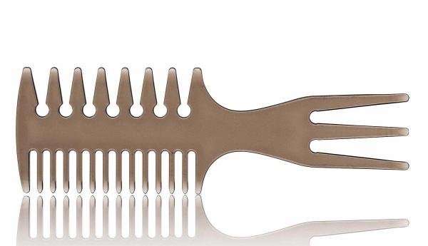 Haarkamm, stylischer Afrokamm, mehrseitig mit Griff