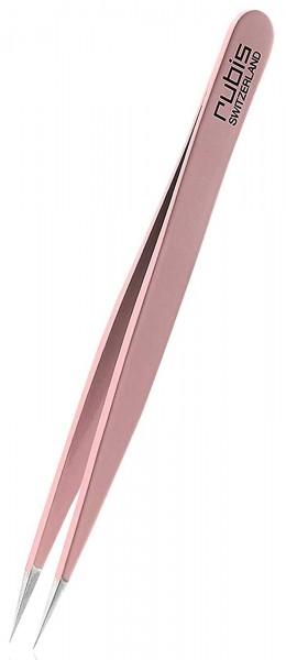 Rubis Pinzette Pointer Pink, spitzer Spitze Tweezers