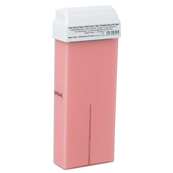 SieDepil Wachspatrone Pink Titanium, Breit 100ml