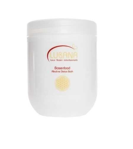LUBANA basisches Basenbad, pH 8,5 - 9, ohne Silikone, bassiche Pflege, Basensalz, Basenkur 1200g