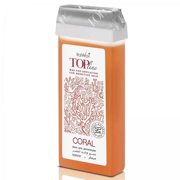 Wachspatrone Coral Top Line Italwax, 100 ml
