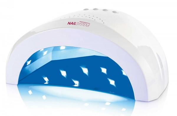 48 POWER SUN LED Lampe für Hände und Füße-Farbe Weiß